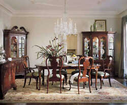 Thomasville Furniture Collector#x27;s Cherry Dining Table ONLY Free Ship Most USA $895.00