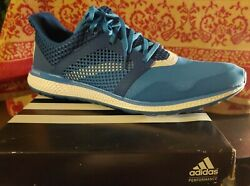 Men#x27;s Adidas Energy Bounce 2 Running Shoes Blue AQ3153 Size 14 $44.00