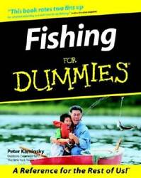 Fishing for Dummies Paperback By Kaminsky Peter VERY GOOD $4.14