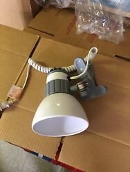 Ledu White Desk Lamp Clip On New In Box See Pictures For Measurements $18.00