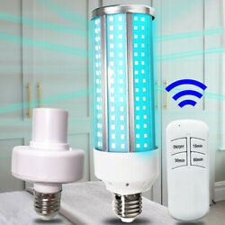 Indoor UV Germicidal Lamp E27 60W LED UVC Bulb Household Disinfection Light USCC $12.99