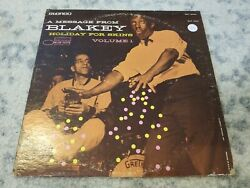 Art Blakey HOLIDAY FOR SKINS VOLUME 1 BST 84004 play tested VG $29.99