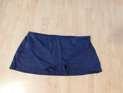 Womens Skirted Swimwear Bottoms Size 3X color Navy Anne Cole NEW $7.50