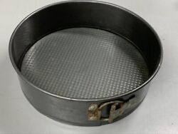 Vintage NS Round Cheesecake Springform Cake Baking Pan Removable Bottom 10quot; $19.95