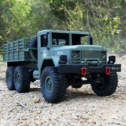 WPL RC CAR 1 16 ROCK CRAWLER OFF ROAD 6WD MILITARY TRUCK CAR 12KM H RTR TOY N0T8 $48.44