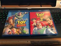 Toy Story 1 and 2 3d only...fast shipping $9.99