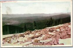 postcard Colorado The Rabbit Ear Range Moffat Road posted 1909 $4.99