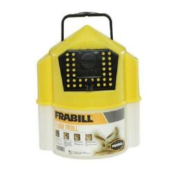 Frabill 6qt Flow Troll Minnow Bucket Aerated Fishing Live bait Container $15.31
