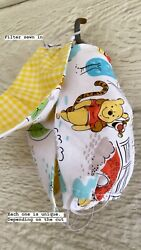Winnie The Pooh Bear Kids Masks With Filter $8.50