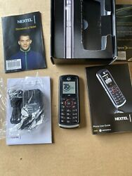 MOTOROLA NEXTEL I335 DIRECT CONNECT GPS CELL PHONE WALKIE TALKIE WITH BOX BAR $49.99