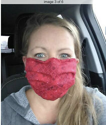 Face Mask Men's Women's Kids *HEPA removable filter* Nose wire *CDC compliant* $12.99