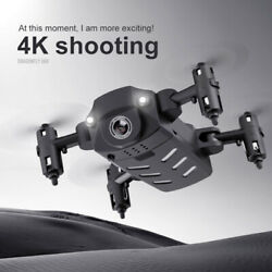 Mini Foldable Drone 4K HD Camera Helicopter Professional Photo Video Drones Set C $34.50