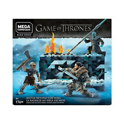 Mega Construx Game Of Thrones Battle Beyond The Wall Building Set NEW IN STOCK $24.99