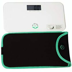 NewlineNY Mini Bathroom Scale White Black Green Red Trendy Waves Travel $50.93