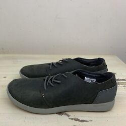 MERRELL Freewheel Lace up Gray Suede Leather Biking Commuter Shoes Mens 15 $50.04