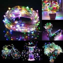 32ft 100LED USB Copper Wire Light String Fairy for Wedding Xmas Party Birthday $6.99