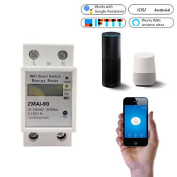 WiFi Smart Power Meter Switch Power Consumption Energy Monitoring Meter 11 Z0W5 $35.99
