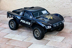 Custom Body Police Sheriff Style for ARRMA Senton 4x4 3S / 6S BLX Cover Shell $34.98