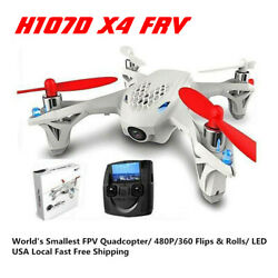 For Hubsan X4 H107D FPV X4 RTF Quadcopter 720P Headless Altitude RC Drone New $40.99