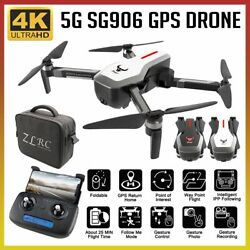 SG906 GPS Brushless Drone Camera Handbag 5G Wifi FPV Foldable RC Quadcopter C0V6 $140.89