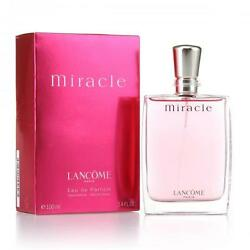 MIRACLE by Lancome 3.3 3.4 oz 100 ml EDP Spray FOR Women TSTR $45.99