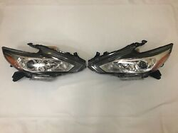 Headlights Left Right Pair For Nissan Altima 2016 2017 2018 New Pair 2 Pieces