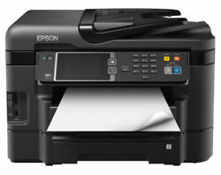 Epson WorkForce WF-3640 All-in-OneColor Inkjet Printer Copier Scanner BRAND NEW $239.99