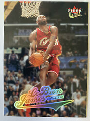 2004-05 Fleer Ultra Lebron James 2nd Year Card #114 Los Angles Lakers Cavaliers