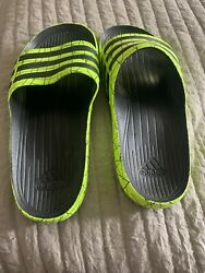 Adidas Mens Flops Mens Size 8 Worn One Time Gently Used $11.00