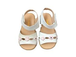 Infant Toddler Baby Girls High quality Sheep Leather Sandals Size 3 4 5 6 7 $13.99
