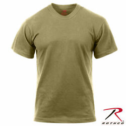 ARMY Mens AR 670 1 100% Cotton Coyote Brown T Shirt Compliant MultiCam amp;OCP 2934 $10.99