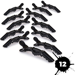 6PCS Salon Croc Hair Styling Clips-Sectioning Alligator Hair Clip Plastic New $5.35