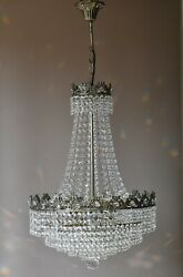 Vintage Crystal Chandelier Antique Lighting lamp pendant for Home Interior GBP 985.00