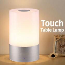 LED Touch Sensor Dimmable Table Lamp Baby Room Sleeping Bedside Night Light WF $11.87