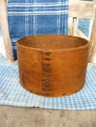 Small Antique Wood Grain Measure Stamped E B Frye $98.00