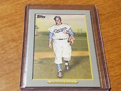 2009 Topps Turkey Red #TR10 Jackie Robinson Brooklyn Dodgers Nmmt+ $3.00
