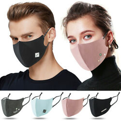 Fashion Face Mask Outdoor Protection Face Masks Reusableamp;Adjustable For Adult $5.79