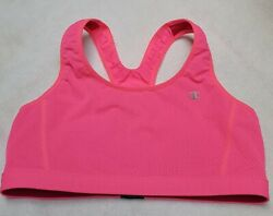 Champion Sports Bra Medium Purple amp; Pink Full Coverage Reversible Workout Gym EC $14.08