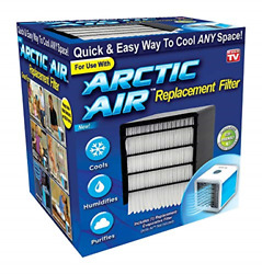 Arctic Air Replacement Filter Ontel As Seen On TV White $13.29