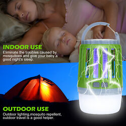 2-IN-1 Mosquito Killer Fly Bug Insect Zapper LED Light Trap Lamp OutdoorIndoor $25.99