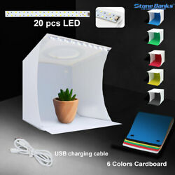 Photo Studio Photography Lighting Tent Light Room Cube Mini Box + 6pcs Backdrops $13.71