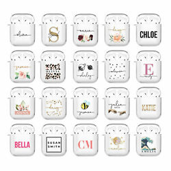 Personalised AirPods Case Cover 1 2 Pro Cute Designer For Girls Apple Earpods