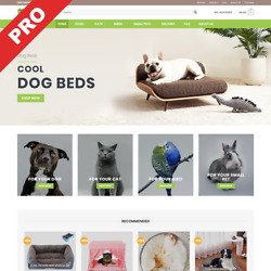 PET STORE  Turnkey Dropshipping Business  Premium Website For Sale $129.00