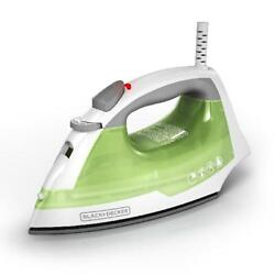 Steam Iron Home Clothes Smart Easy Anti Drip Compact Handheld W Non Stick Plate $19.66