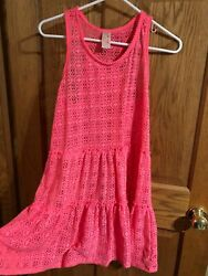 girls beach cover up size 14 16 $8.50