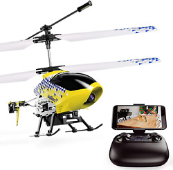 Cheerwing U12S Mini RC Helicopter with Camera Remote Control Helicopter for Kids $56.73