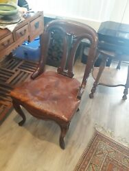 Antique Biedermeier chair 1805 1815 solid chair $1288.80