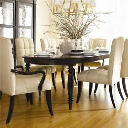 Thomasville Furniture Coterie Cherry Oval Dining Table Only FREE SHIP MOST US $1145.00