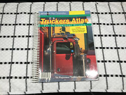 2001 Truckers ATLAS For PROFESSIONAL Drivers ULTIMATE Truckers Reference America $6.97