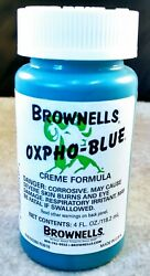Oxpho-Blue Professional Grade Cold Gun Blue Creme Free Shipping. It Works Great! $15.95